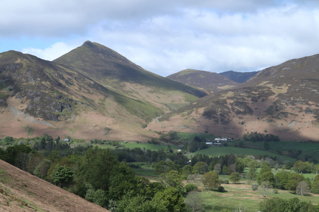 Views from the ridge near Cat Bells