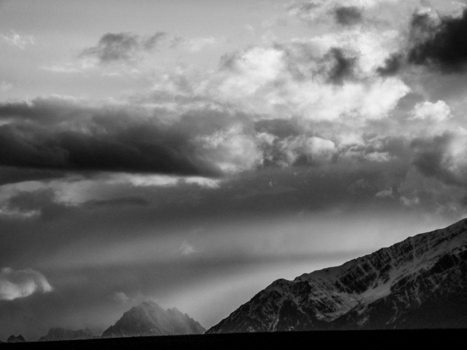 Moody skies over the Hindu Kush