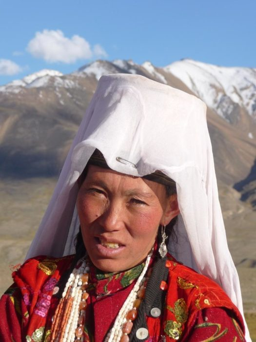 Kyrgyz woman, Little Pamir