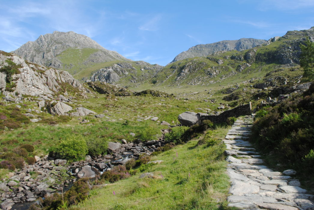 The Path Up Into Cwm Idwal From The Ogwen Valley