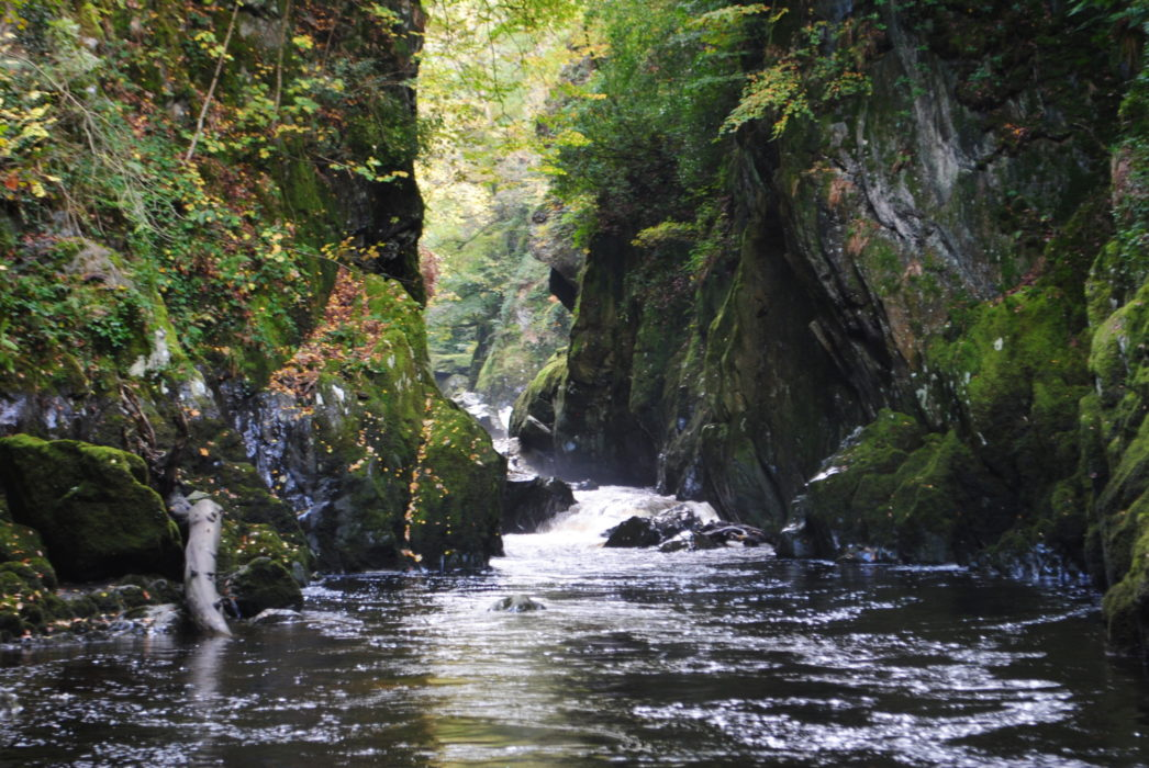 The Fairy Glen Near Betws Y Coed