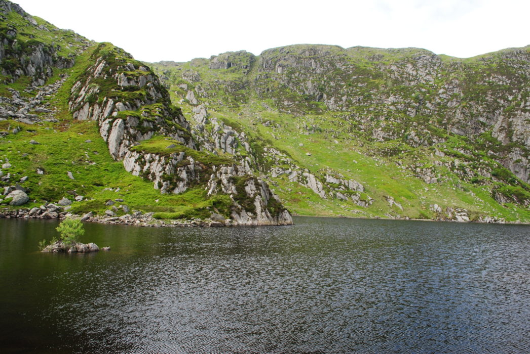 Llyn Dulyn In The Carneddau Rumoured To Be Bottomless