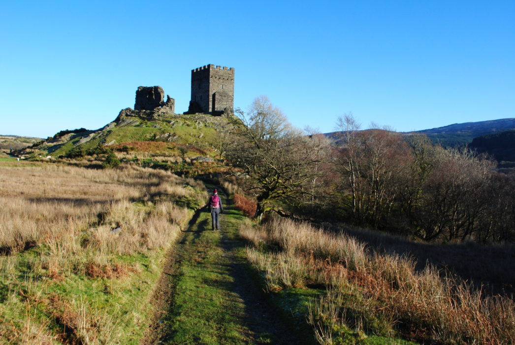 Dolwyddelan Castle In The Lledr Valley One Of The Castles Of The Medieval Welsh Princes
