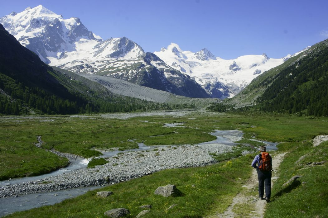 The exquisite Val Roseg, one of the region's most beautiful destinations