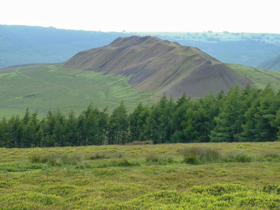 Old Spoil Heap from Mynydd Machen