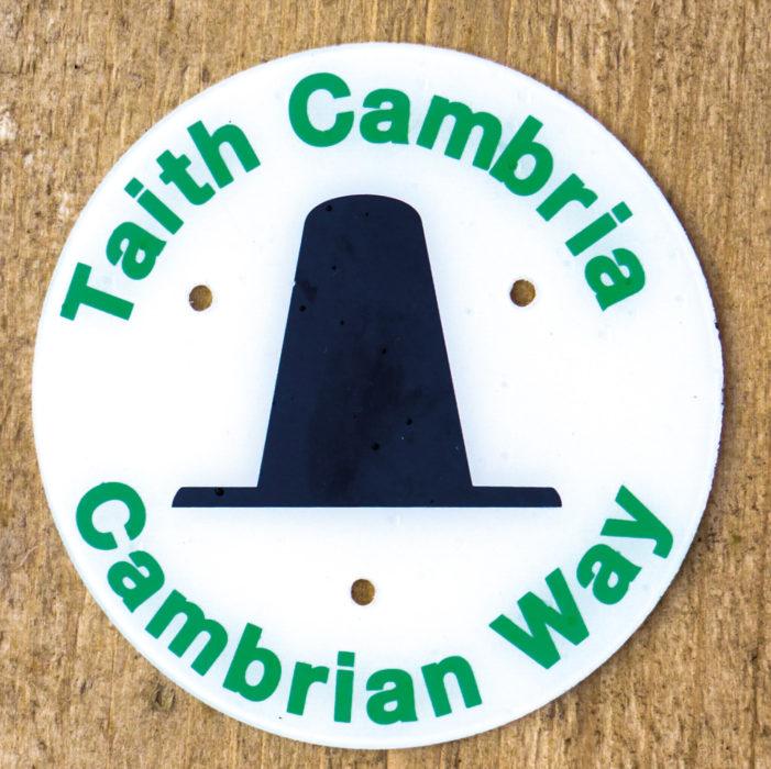 Cambrian Way waymark
