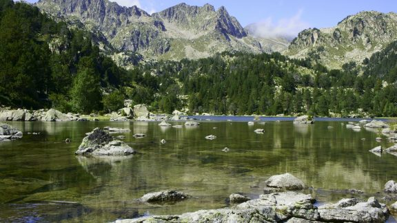 Unnamed tarn in the Aiguestortes national park