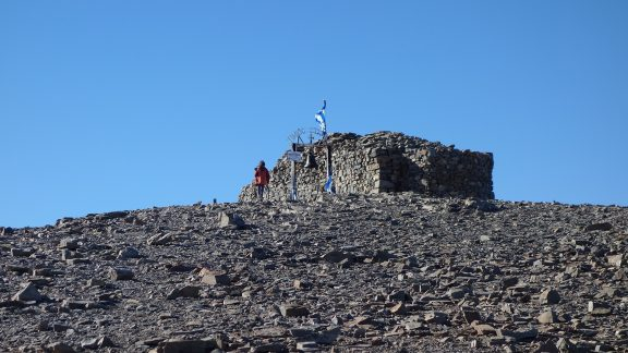The Timios Stavros Chapel Of The Holy Cross On The Summit