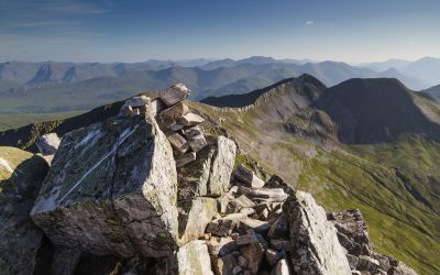 On top o' the world, on Binnein Mòr (leg 1, Charlie Ramsay Round)