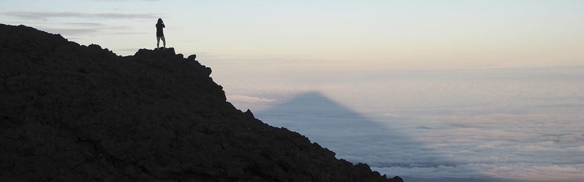 Shadow Of Mt Fuji
