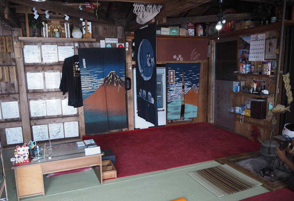 Inside Mountain Hut