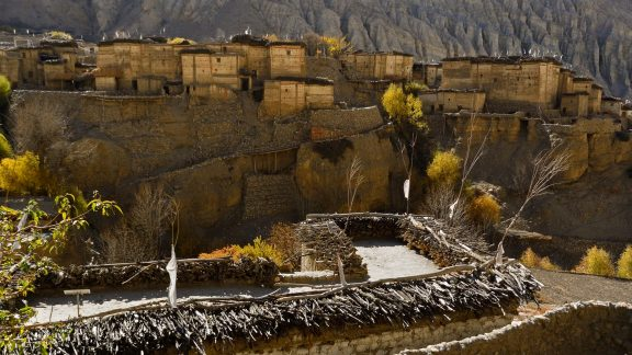Tetang is one of the most beautiful villages in Mustang