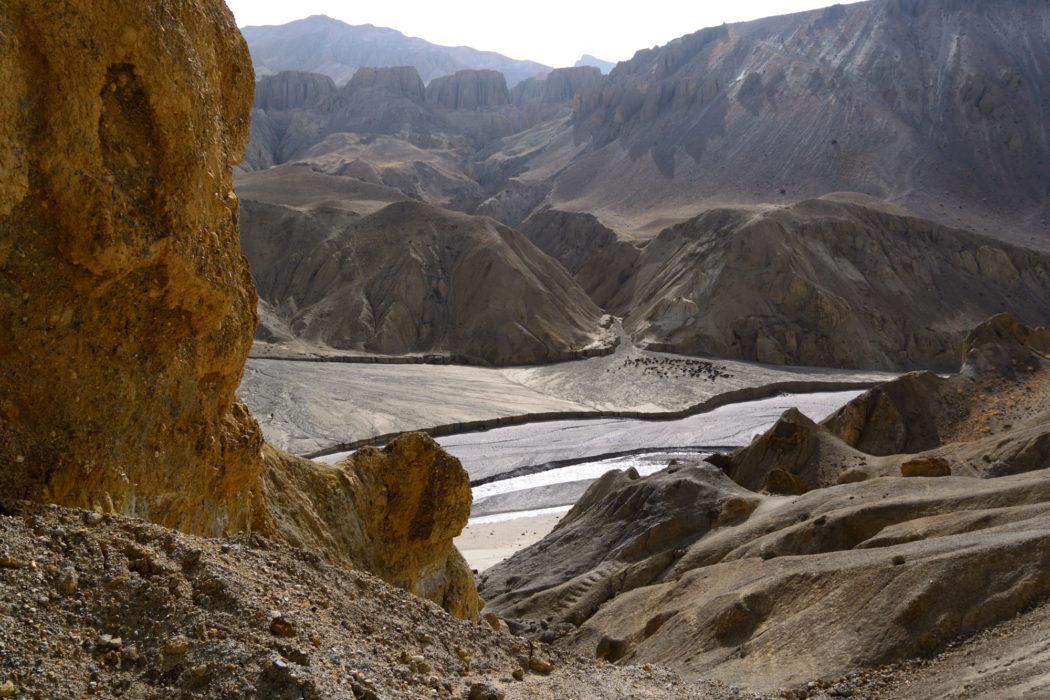 The Kali Ghandaki near Tsarang