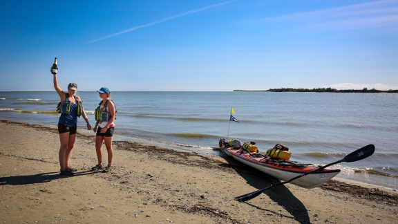 150 days after kayaking out of London, Kate and I reached the Black Sea in Romania! Surprisingly, after paddling over 4,000km, we did not feel ready to finish our adventure.