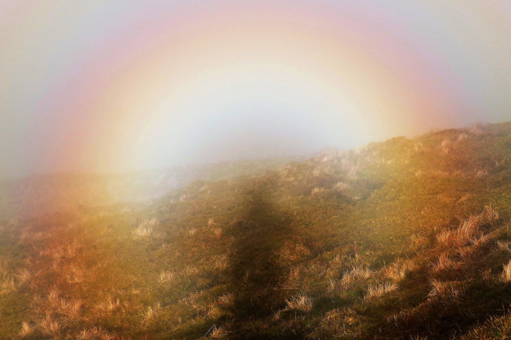 Brocken Spectre On Temple Hill