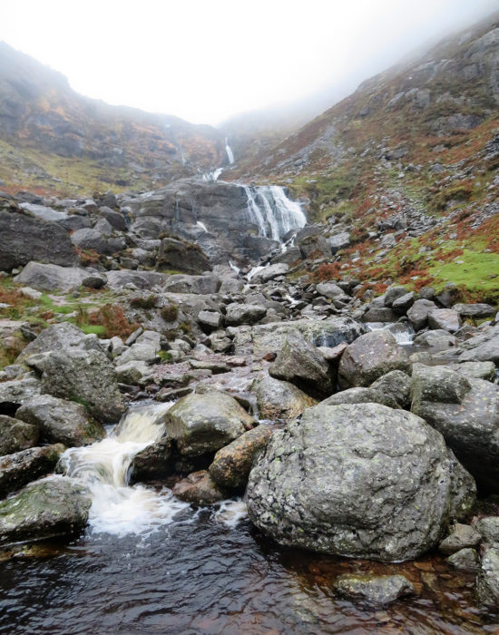 Waterfall On The Comeragh Mountains
