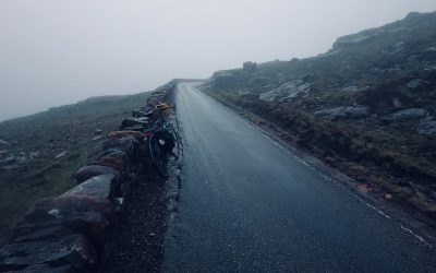 Day 7 01 Nearly at the top of Bealach na Ba
