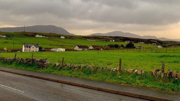 Day 2 05 Evening Light in Downtown Durness