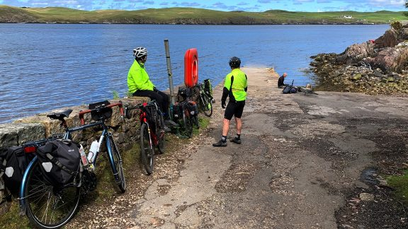 Day 3 06 Waiting for the Ferry From Cape Wrath