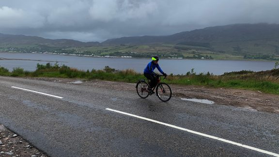 Day 8 04 On the Plockton Scenic Route From Skye