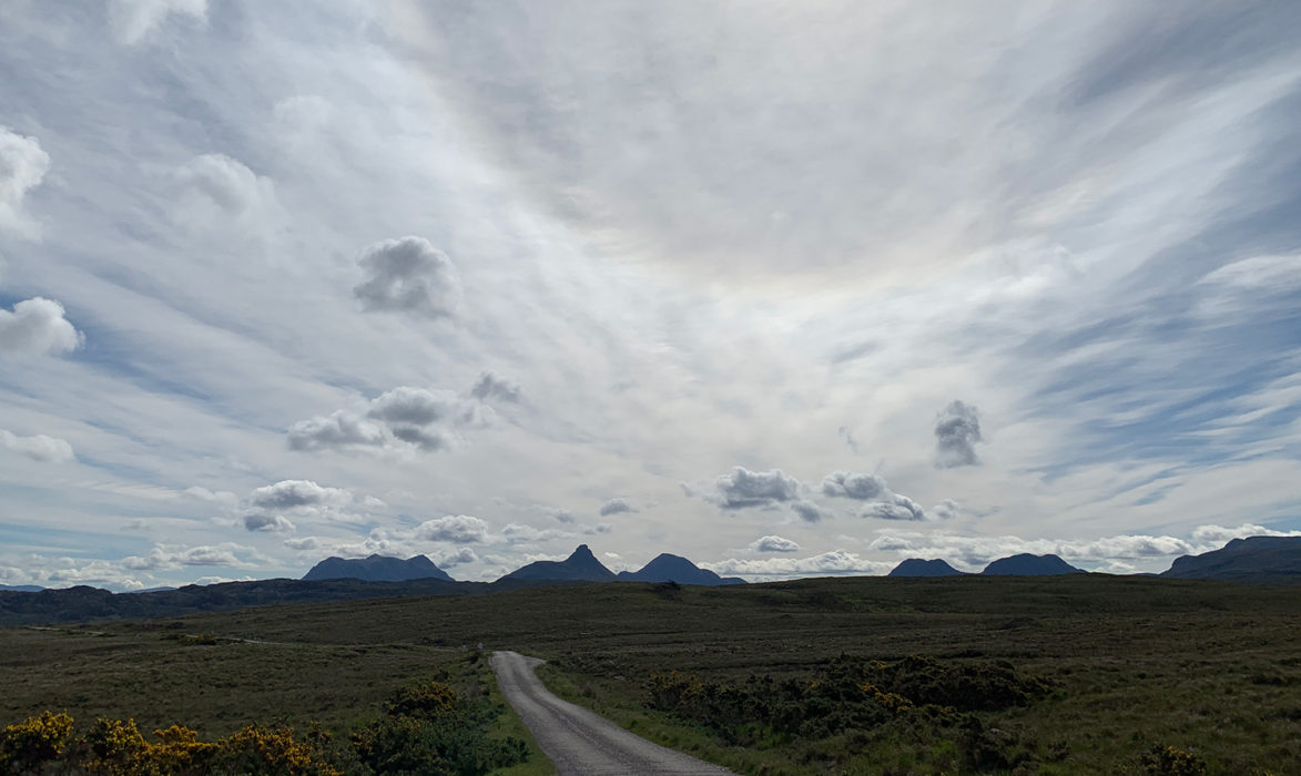 Day 5 01 Big Skies Over the Coigach Peninsula