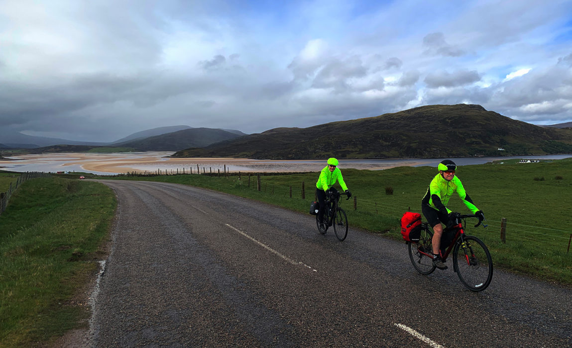 Day 3 01 Improving Weather at the Kyle of Durness
