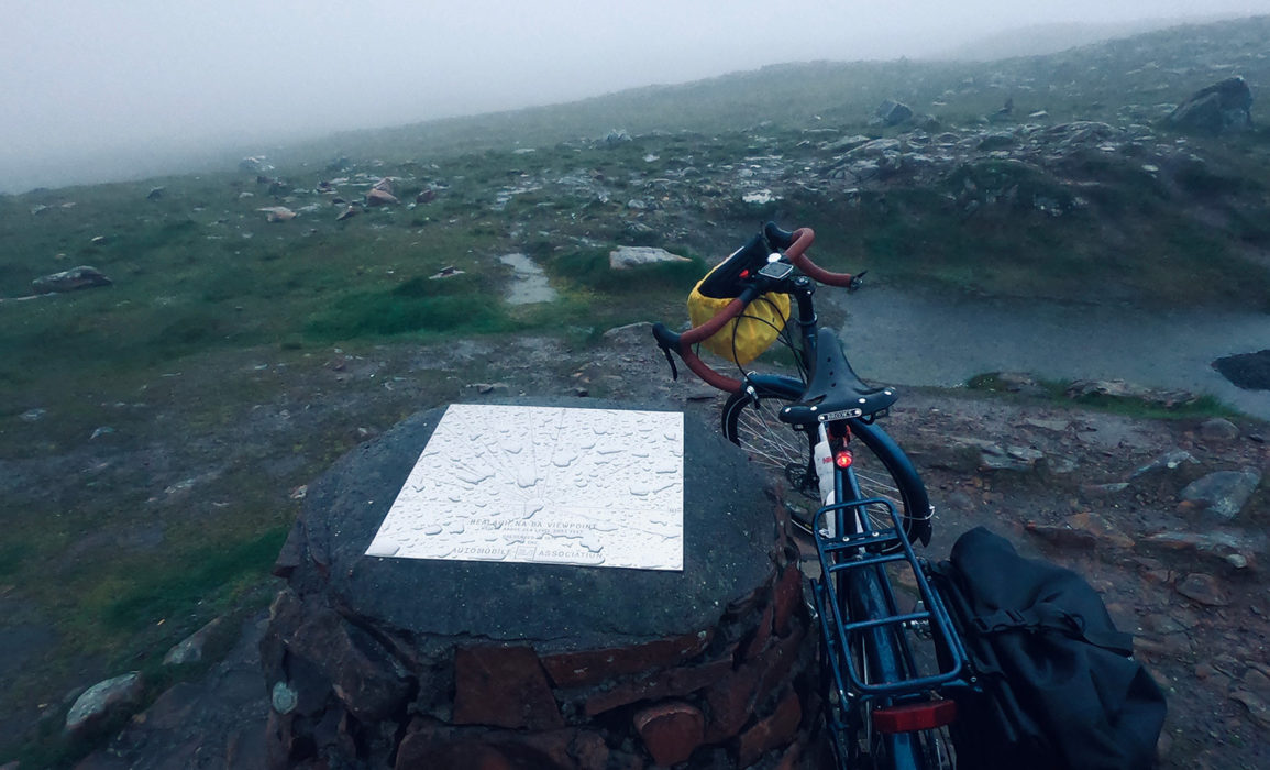 Day 7 02 Bealach na Ba Summit Plaque