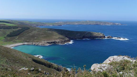 Indented coastline