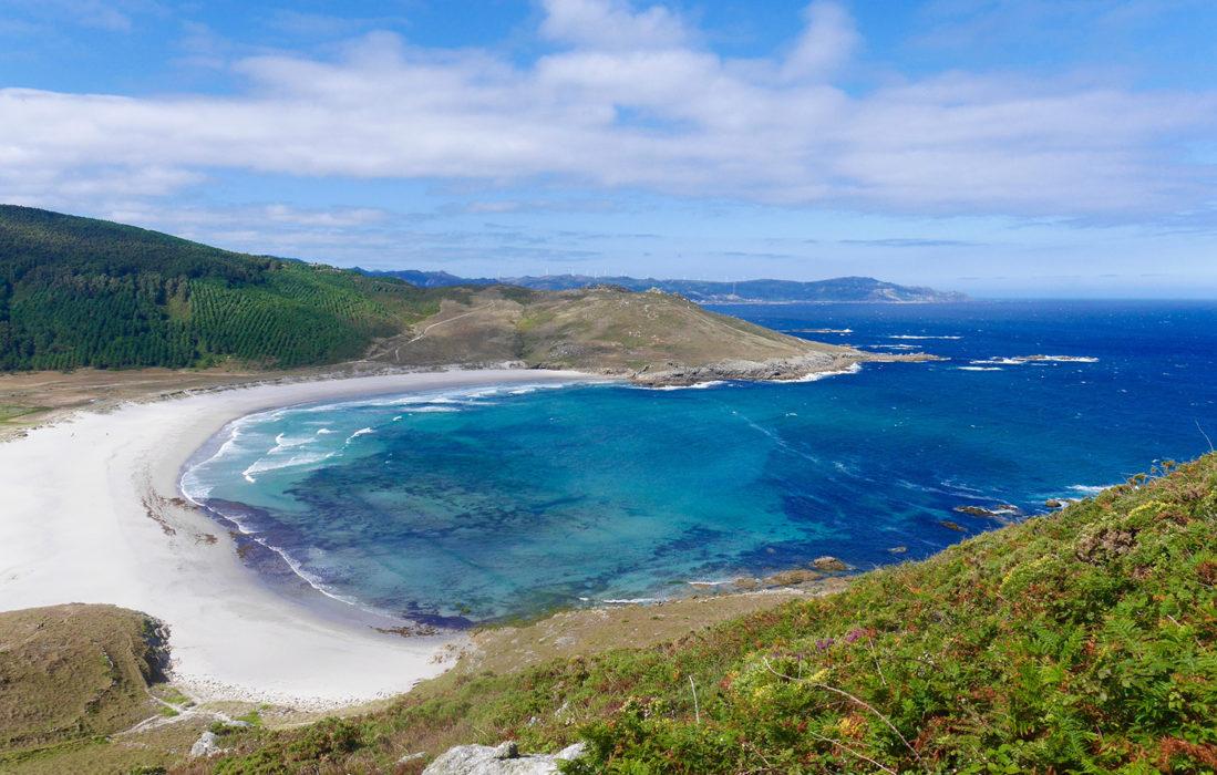 A favourite beach the Praia de Soesto