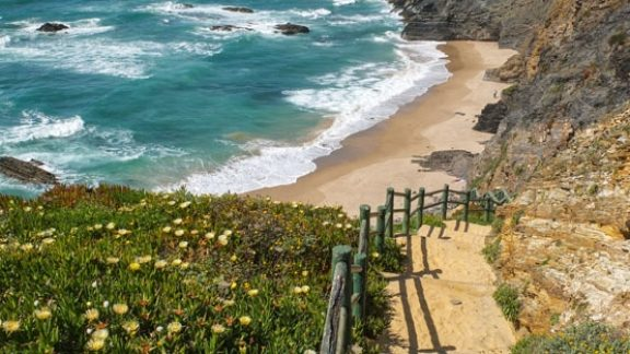 One of the marvellous accessible beaches on the outskirts of Zambujeira do Mar