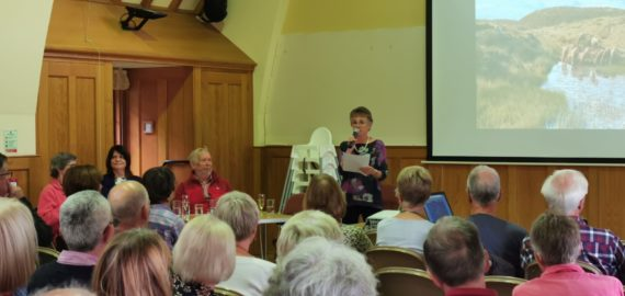 A proper Shropshire book launch