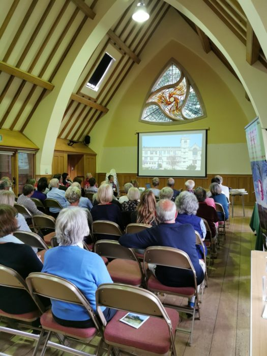The Trinity Centre in Meol Brace was a lovely venue for a launch
