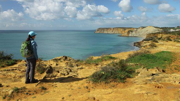 Views towards Praia do Burgau Walk 25