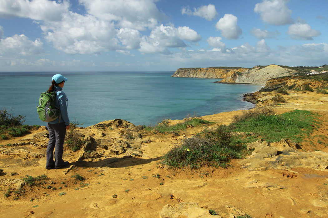 Views towards Praia do Burgau Walk 25