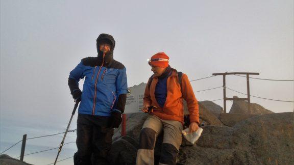 The summit – Low's Peak
