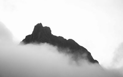 One of the craggy peaks of Mount Stanley