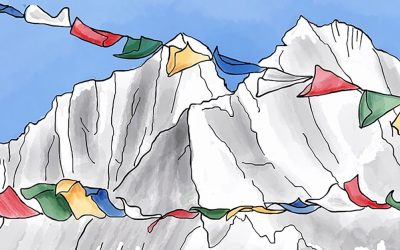 Himalayan flags TH
