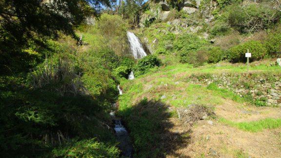 Waterfall in Penedo do Buraco