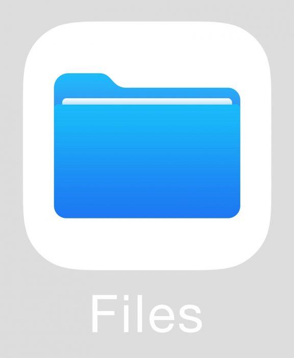 Apple Files Icon