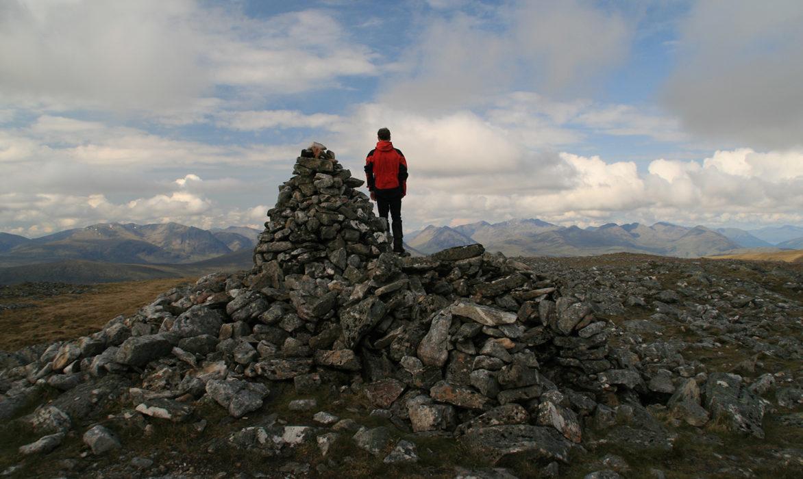 Glen Coe peaks