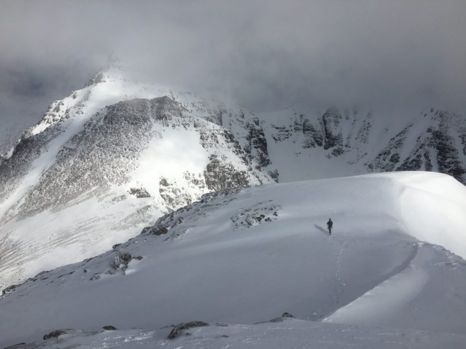 On The Traverse Of An Teallach Scotland