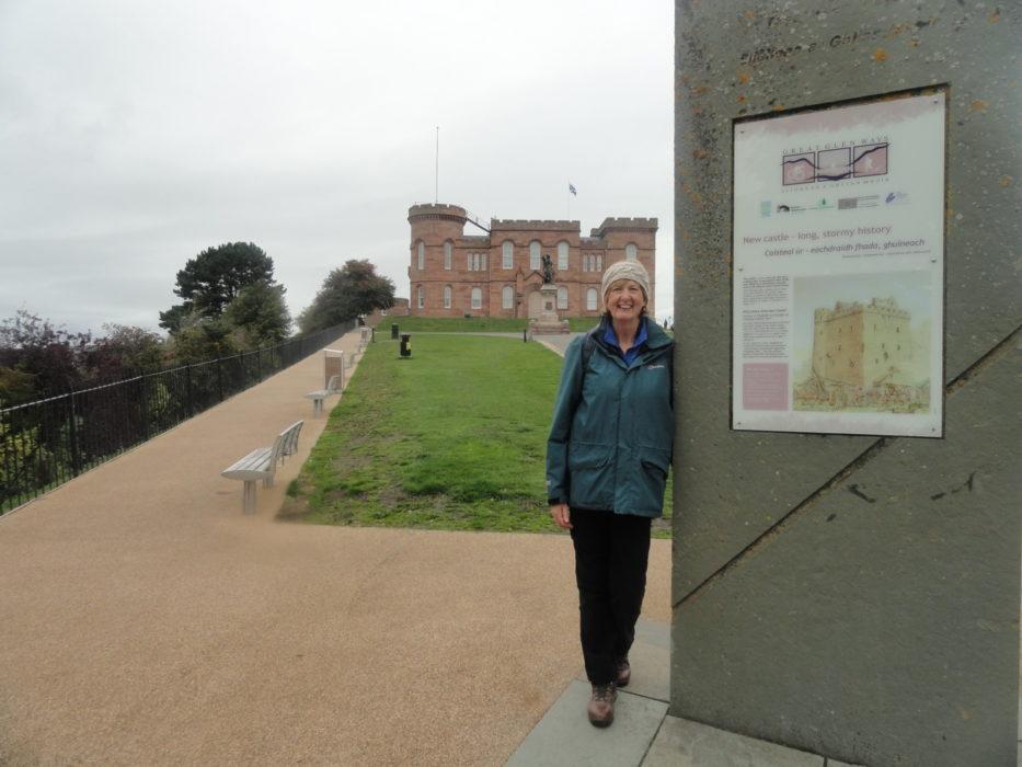 Lorraine on the Great Glen Way