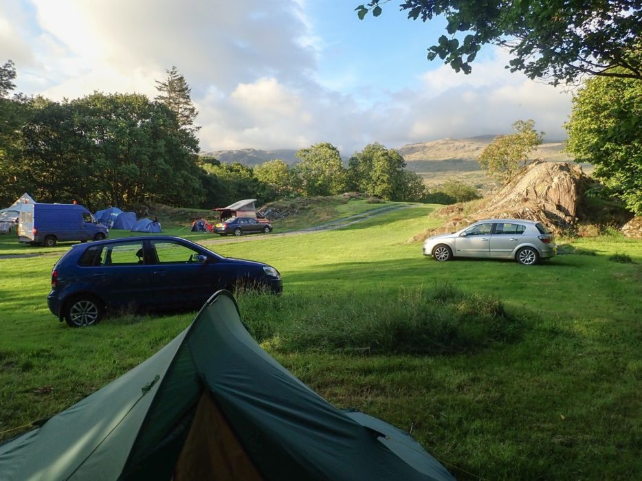Car Camping In The Duddon Valley