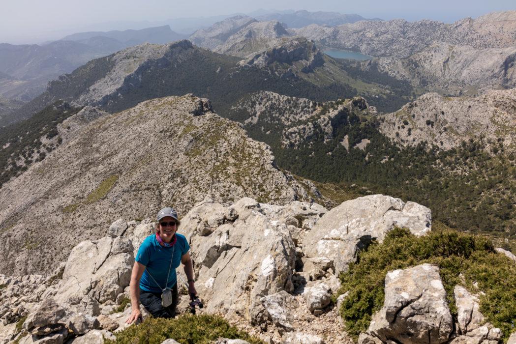 Lesley in Mallorca