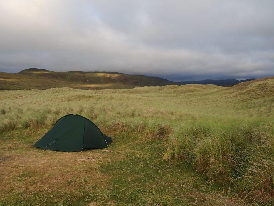 Wild Camping At Sandwood Bay