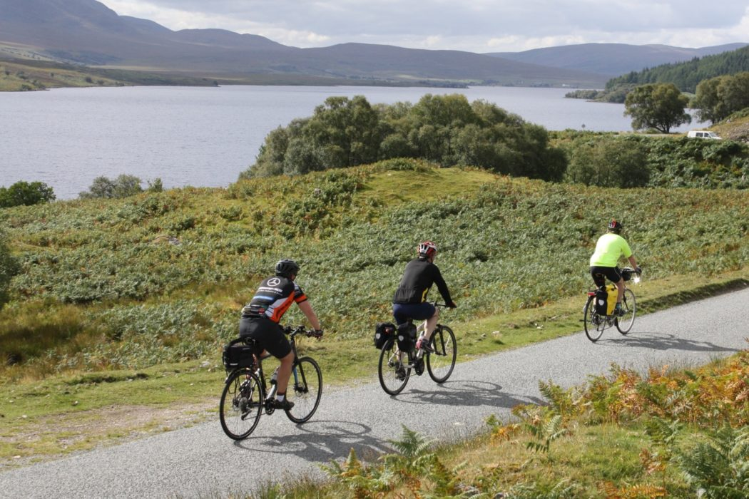 Cycle touring northern Scotland