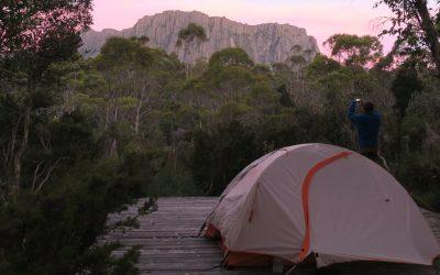 22 Camping platform near Kia Ora Hut