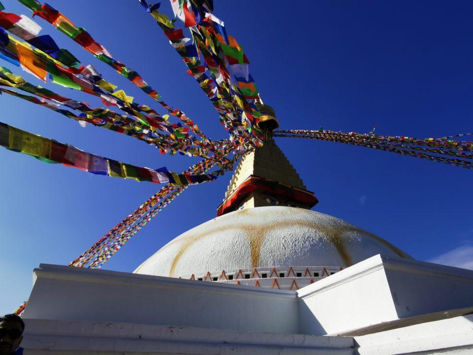 Budha stupa in Kathmandu