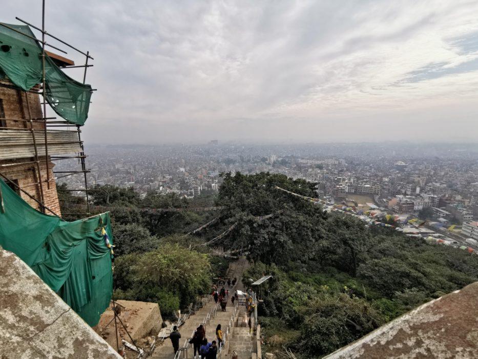 Kathmandu in 2019