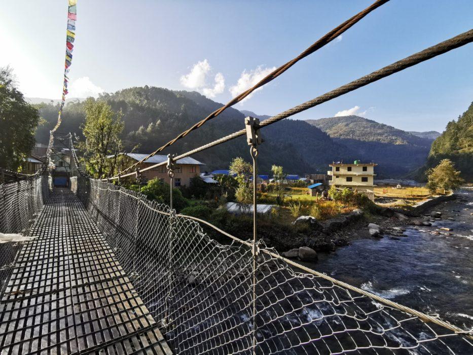 The bridge in Shivalaya